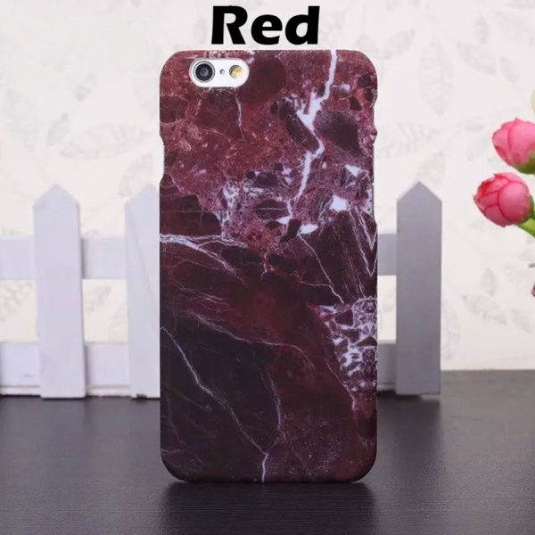 red marble iphone 7 plus case