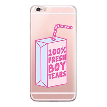 100% fresh boys tears iPhone 8 case