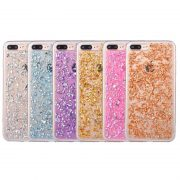 Colorful Foil Metal Flake iPhone 7 cases
