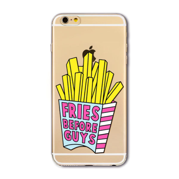 fries before guys iphone 7 cartoon case