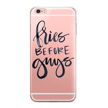 fries before guys iphone 7 cursive case
