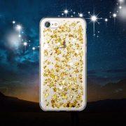 Gold Foil Metallic Flakes iPhone 7 case