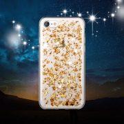 Rose Gold Foil Metallic Flakes iPhone 7 case