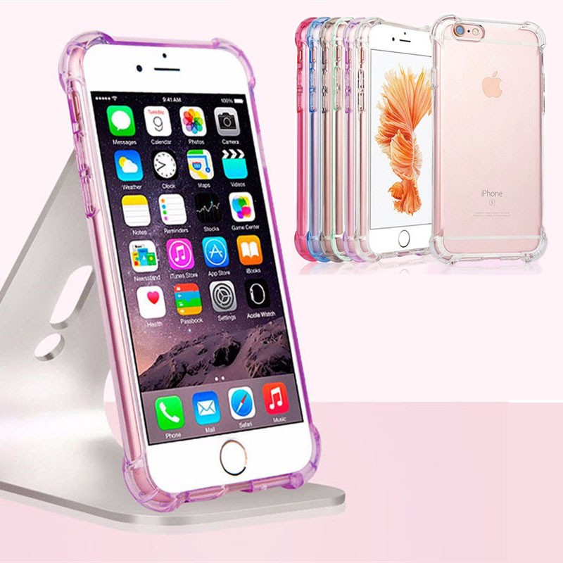 16ce04813d transparent shockproof iphone 7 case · anti knock iphone 7 clear colorful  cases