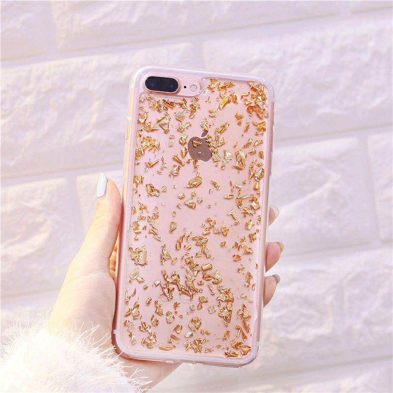 best website bbe29 5763a Foil Metal Flake iPhone 7 Plus / 8 Plus Cases