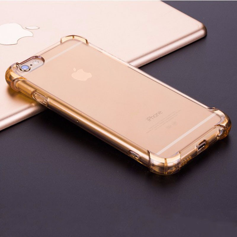 gold iphone 7 clear shockproof case