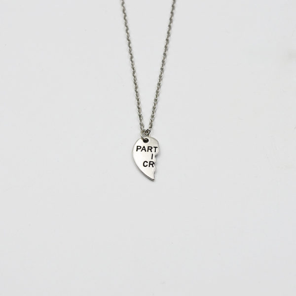bff partners in crime necklaces