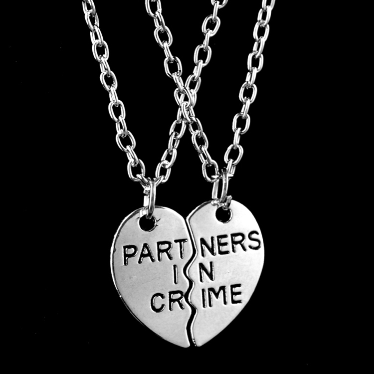 jewellery necklace couple matching personalised friendship partner necklaces
