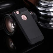 Black Shockproof Armor iPhone 7 Plus Case