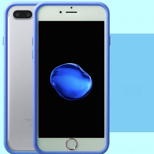Blue Bumper iPhone 7 Plus Case