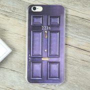 Blue Sherlock Holmes 221B Door iPhone 7 Case