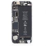 Circuit Board Li Ion Battery open back iPhone 7 Plus Case