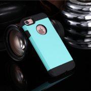 Light Blue Shockproof Armor iPhone 7 Plus Case