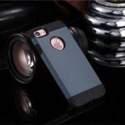 Metal Slate Dark Blue Shockproof Armor iPhone 7 Plus Case