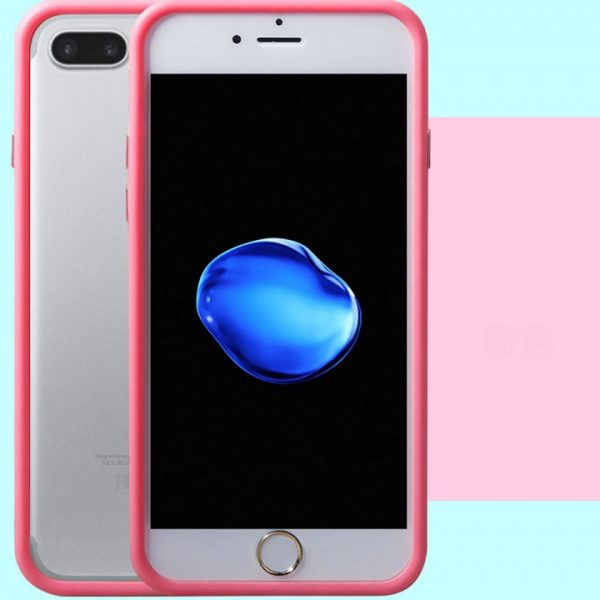 Pink Bumper iPhone 7 Plus Case