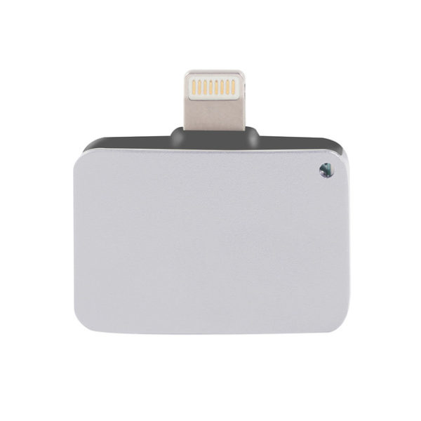 Silver Lightning Port to Headphone Jack iPhone 7 7 plus adapter