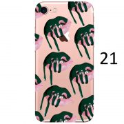 green dripping lips makeup kylie jenner iphone 7 plus case