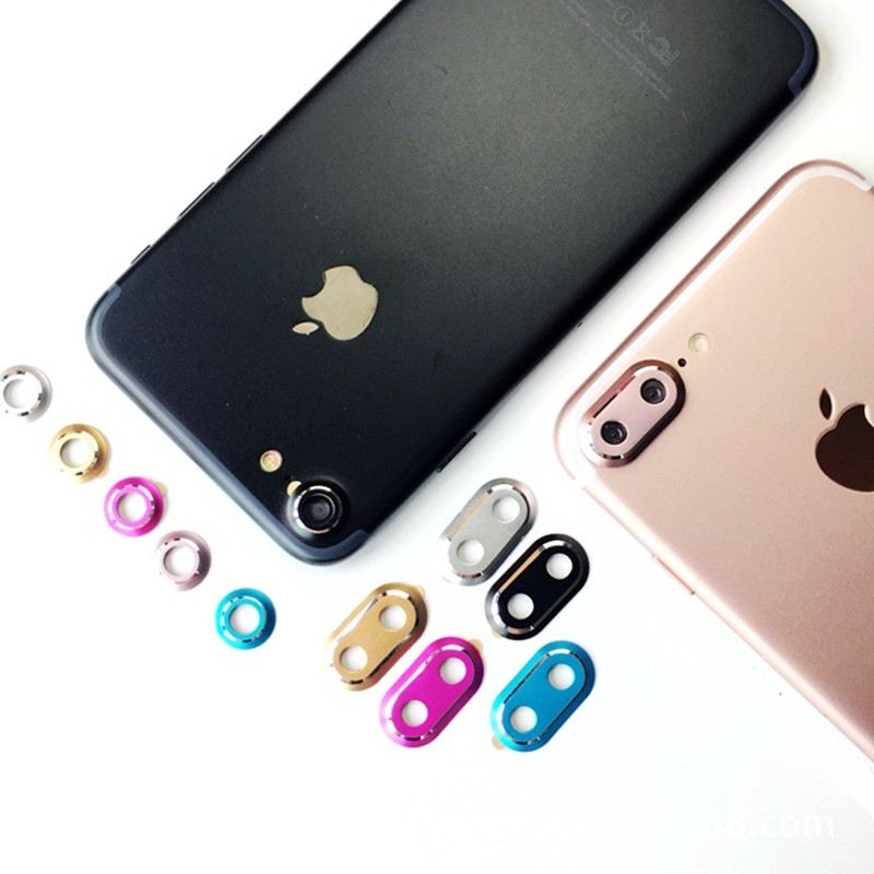 iPhone 8 Camera Lens Protective Rings
