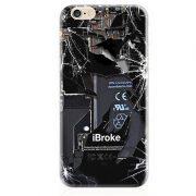 ibroke open back machine circuit board li ion battery iPhone 7 Case