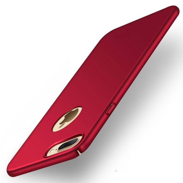 Red Thin iPhone 7 Plus case