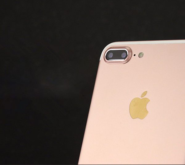 Rose gold iPhone 7 Plus Camera Protector