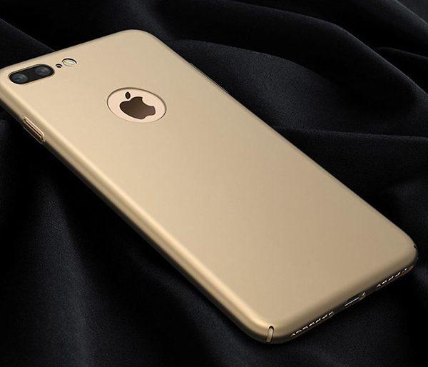 gold matte luxury iphone 7 case