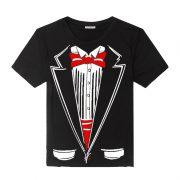 Black Tuxedo Suit T-Shirt