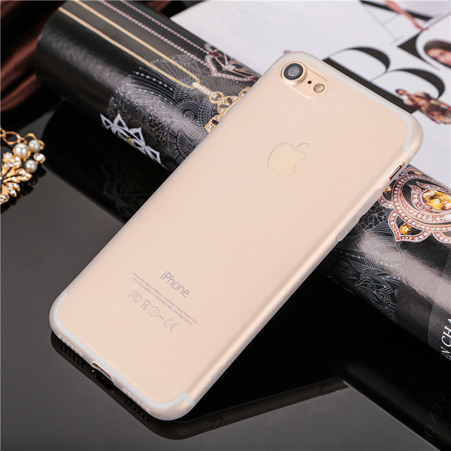 Ultrathin iPhone 8 Translucent Soft Case
