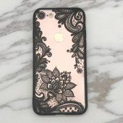 iphone 7 black lace case