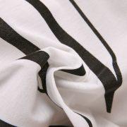 love women's white one shoulder t-shirt