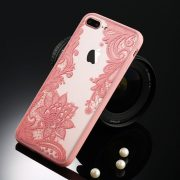 pink lace iphone 7 plus case