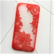 red lace iphone 7 Plus case