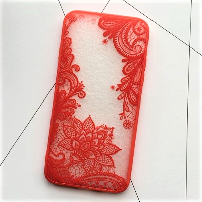 red lace iphone 7 case