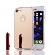 iphone 7 gold mirror case
