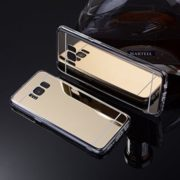 Galaxy s8 gold mirror case