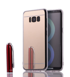 Gold Samsung Galaxy S8 S8 Plus mirror case