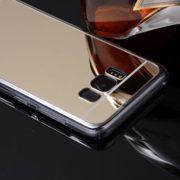 Golden Samsung Galaxy S8 S8 Plus mirror case
