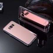 rose gold galaxy s8 mirror case