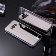 silver samsung galaxy s8 s8 plus mirror case
