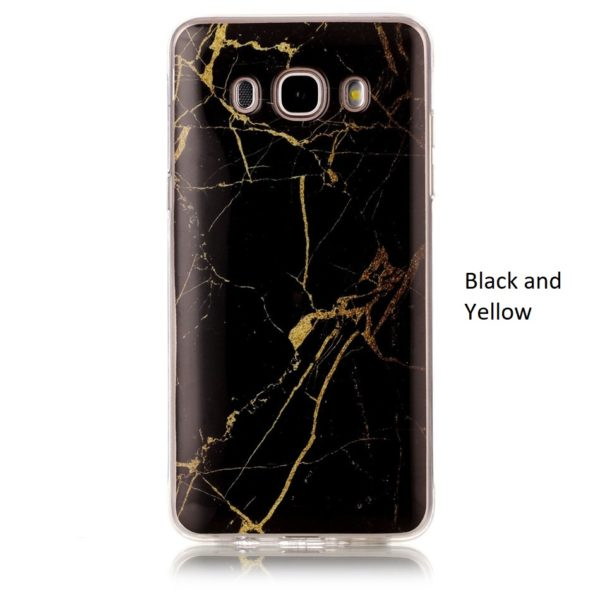 black and yellow marble samsung galaxy s8 s8 plus case