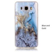 blue and gold marble samsung galaxy s8 s8 plus case