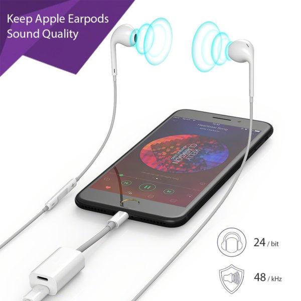 iphone 7 plus lightning port splitter