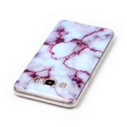 white and red marble Galaxy s8 s8 plus case
