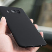 Matte Black Galaxy s8 s8 + case