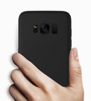 black tpu galaxy s8 case