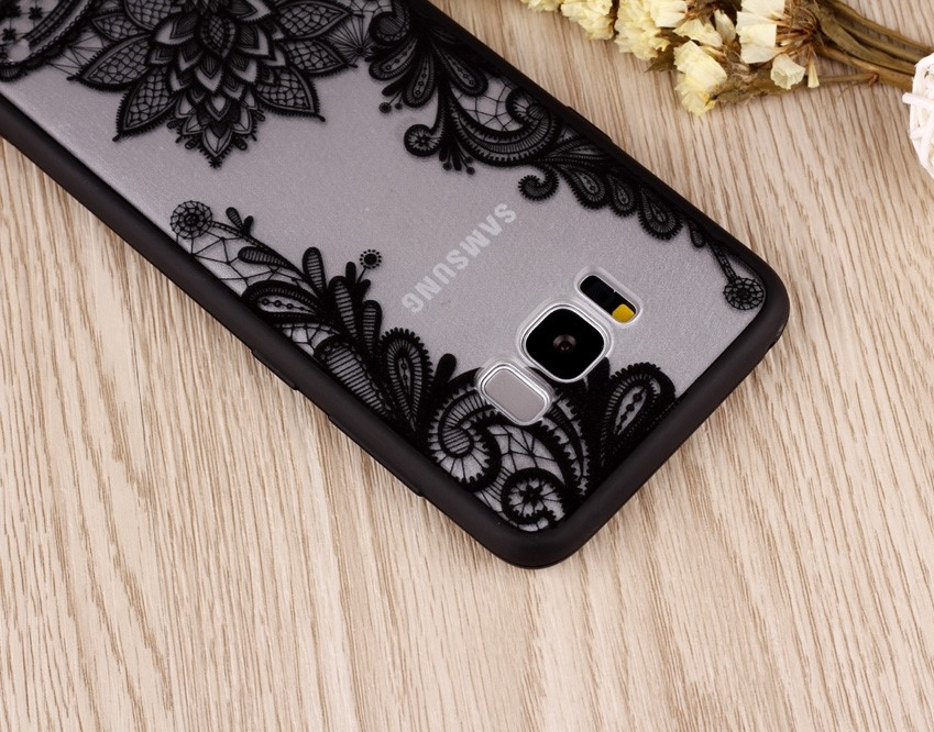floral lace henna galaxy s8 plus case