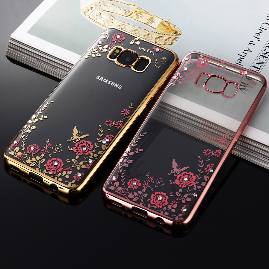 samsung s8 plus phone case rose gold
