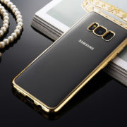 gold chrome framed samsung galaxy s8 s8 plus case