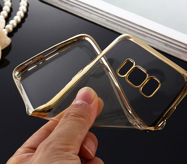 gold clear galaxy s8 s8 plus case