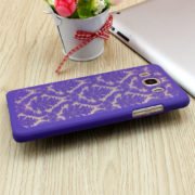 purple floral vintage galaxy s8 plus case